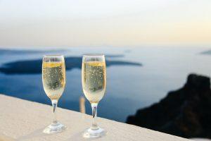 coupe champagne cristal