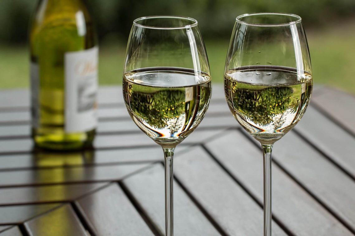 vin blanc pétillant italien